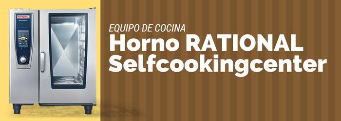 Equipo de cocina horno rational selfcookingcenter for Aparatos de cocina