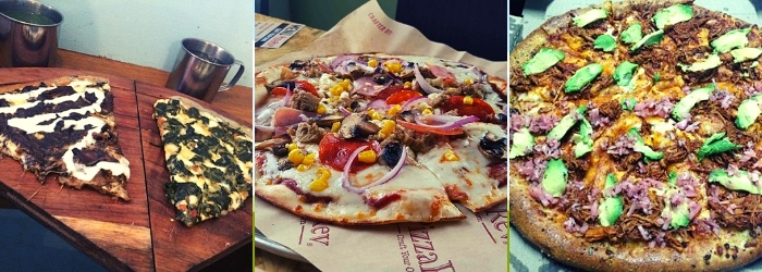 Variaciones de pizza mexicana - Europan
