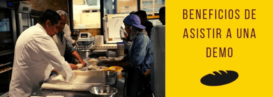 5 beneficios de asistir a una demo de panadería - Europan