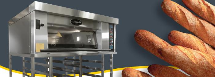 Horno de pisos MB: el equipo que necesitas para crear pan europeo de alta calidad