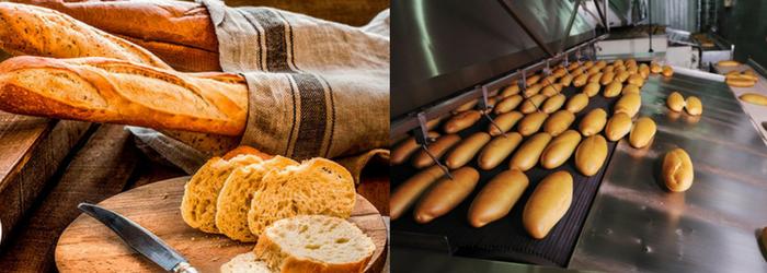 Diferencias entre el pan artesanal y el industrial - Europan