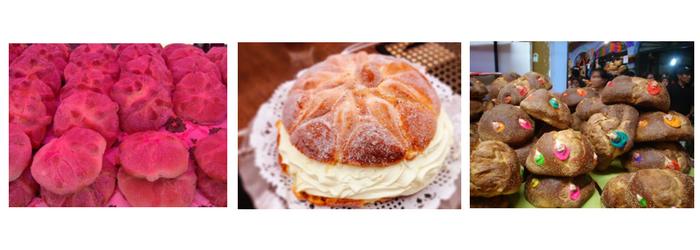 6 tipos de pan de muerto - Europan