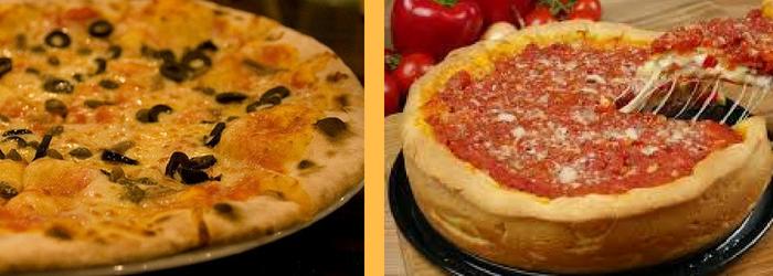 Tipos de masa para pizza - Europan
