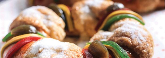 Receta de Rosca de Reyes de chocolate - Europan