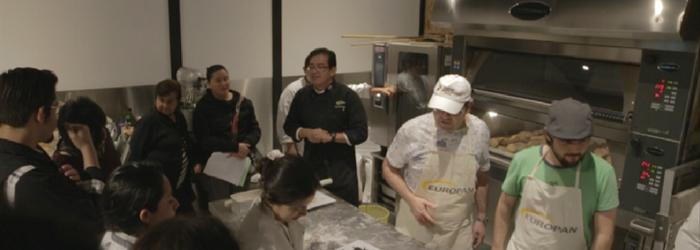 Funcionamiento de equipo para panadería Europan