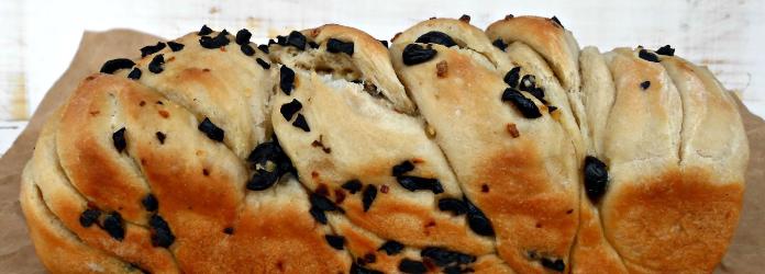 Receta para pan artesanal de aceitunas - Europan